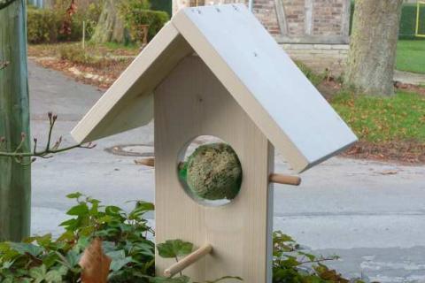 Vogelhäuschen Piepschmatz